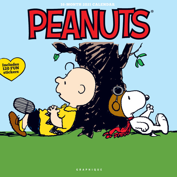Peanuts Happiness Is Wall Calendar