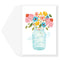 Mason Jar Thank You Card