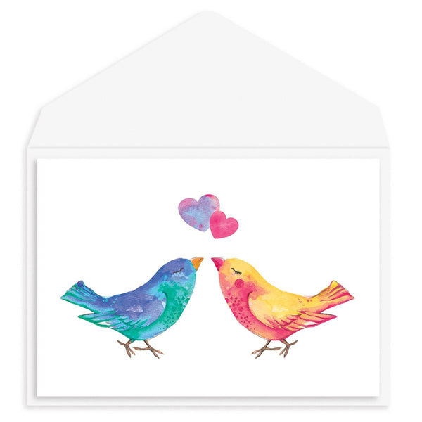 Love Birds Anniversary Card