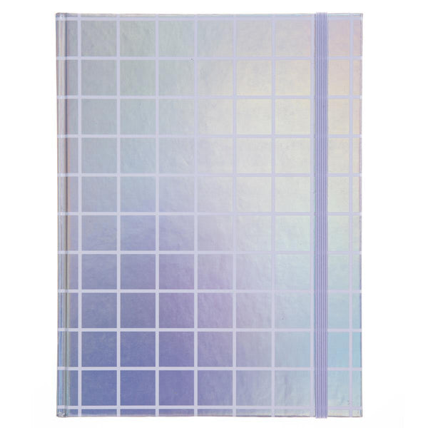 Holographic Grid Hardbound Journal