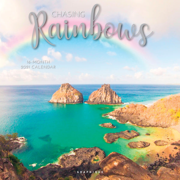 Chasing Rainbows Wall Calendar