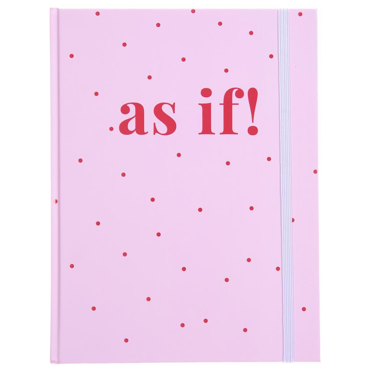 As If Spotted Hardbound Journal