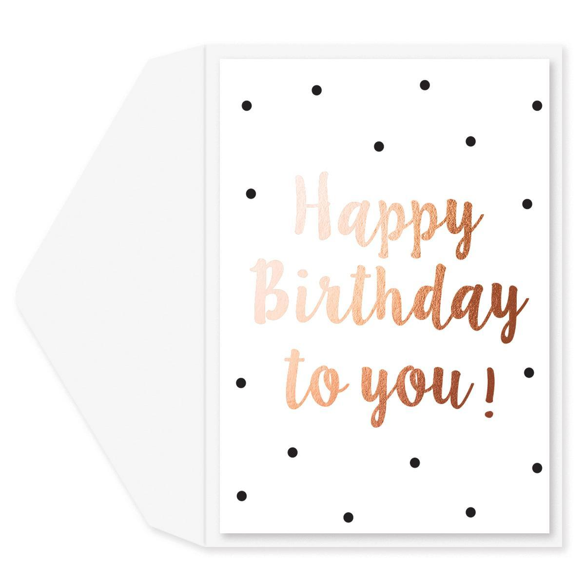 Birthday Smiles Birthday Card