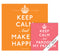Keep Calm Wall Calendar