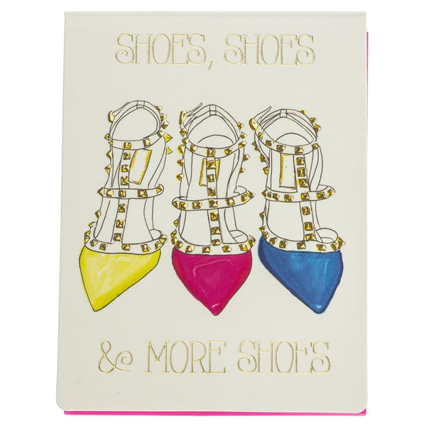 Shoe Love Pocket Note