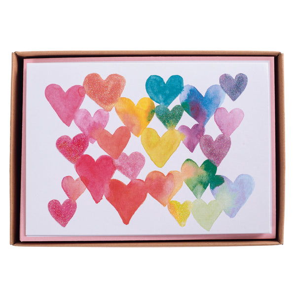 Love in Color Boxed Cards