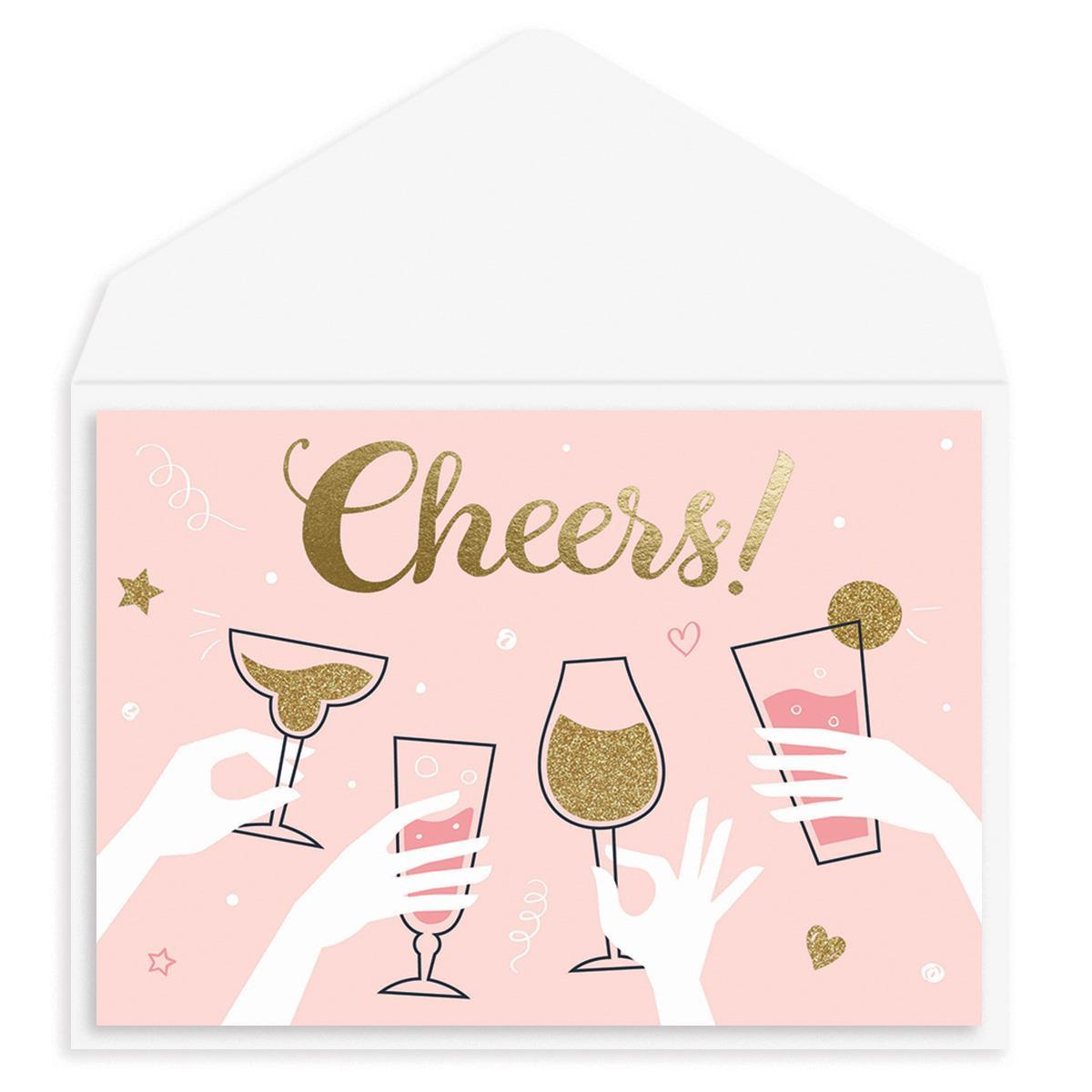 Cheers! Congratulations Card