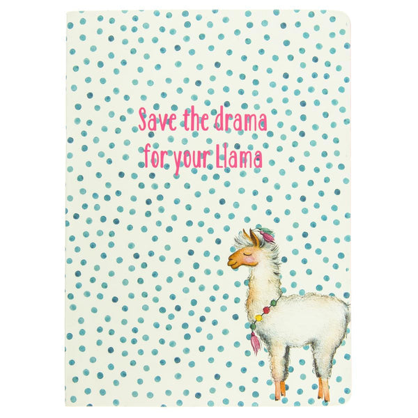 Llama 6x8 Soft Cover Journal