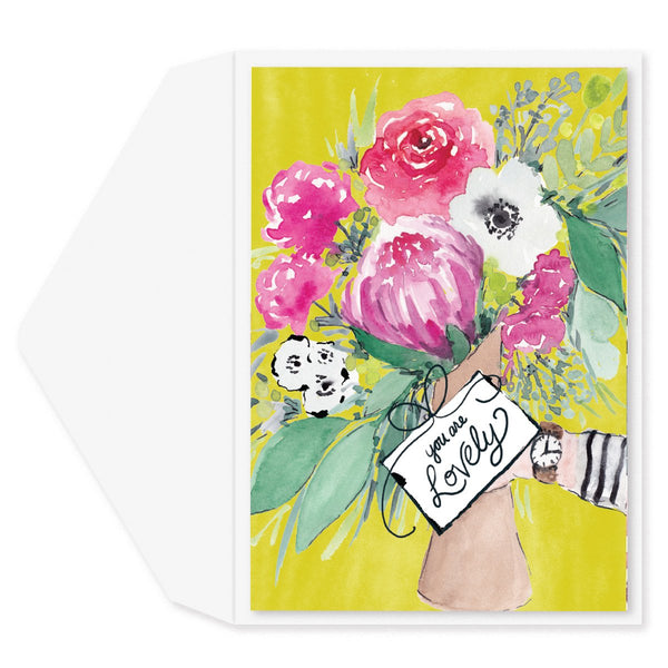 Lovely Bouquet Friendship Card