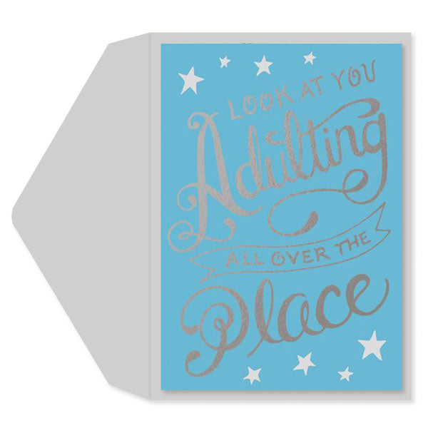 Adulting Graduation Card