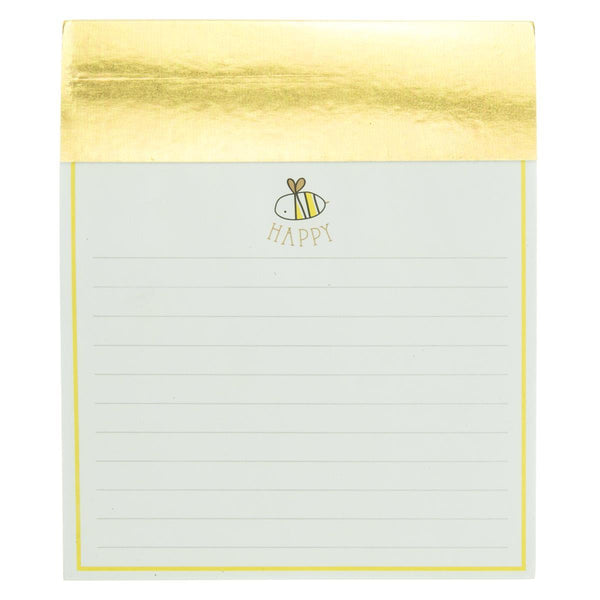 Bee Happy Jotter Notepad