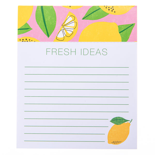 Lemon Jotter Notepad