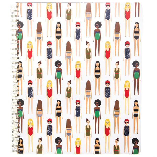 Girlies Large Spiral Notebook