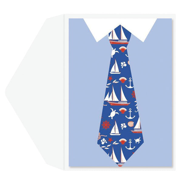 Tie Attire Father's Day Card
