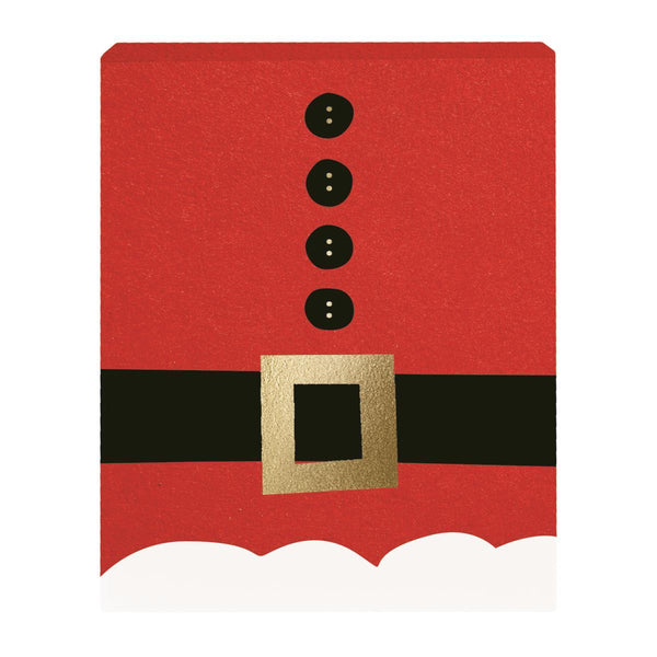 Santa Suit Holiday Gift Card Box