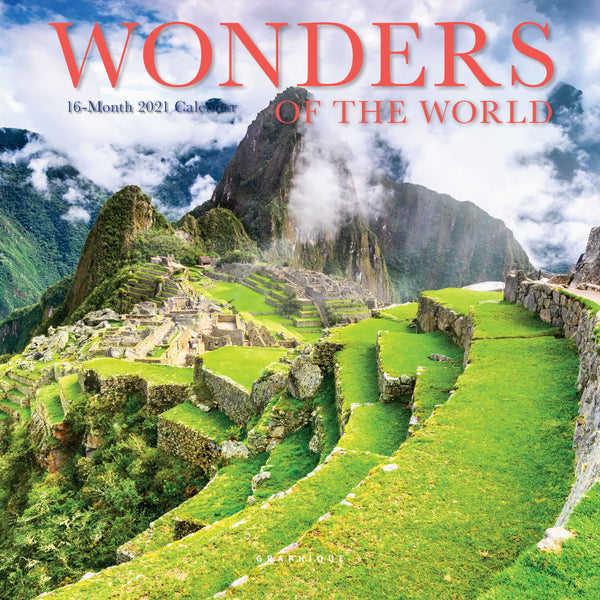 Wonders of the World Mini Calendar