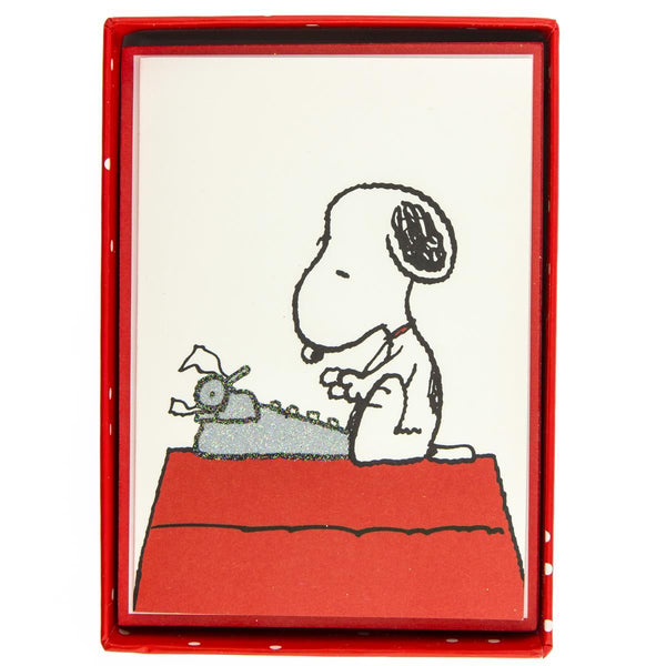 Peanuts™ Typewriter Everyday Boxed Cards