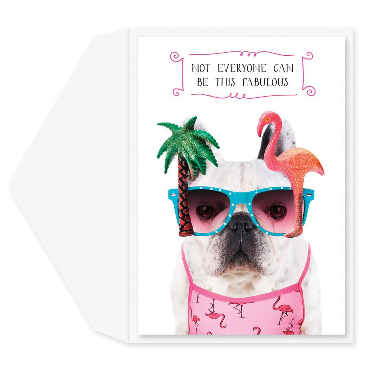 It's Easy Being Fabulous Birthday Card