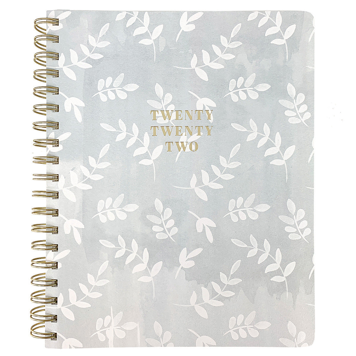 Foliage 8x10 18-Month Spiral Vegan Leather Planner