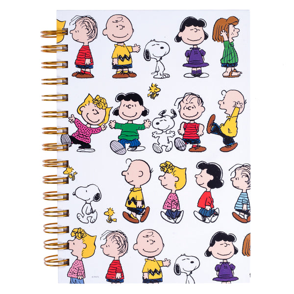 Peanuts™ Gang 6x8 Spiral Hard Cover Journal