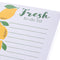 Lemon Magnetic Notepad