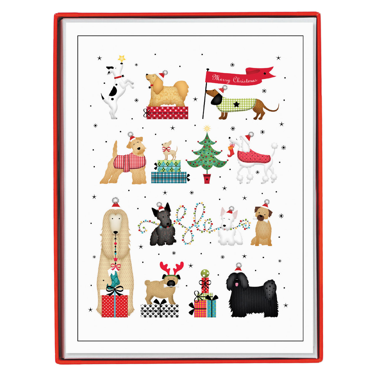 Holiday Dogs Holiday Large Boxed Cards
