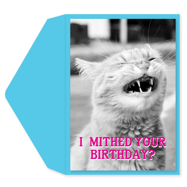 Kitty Lisp Birthday Card