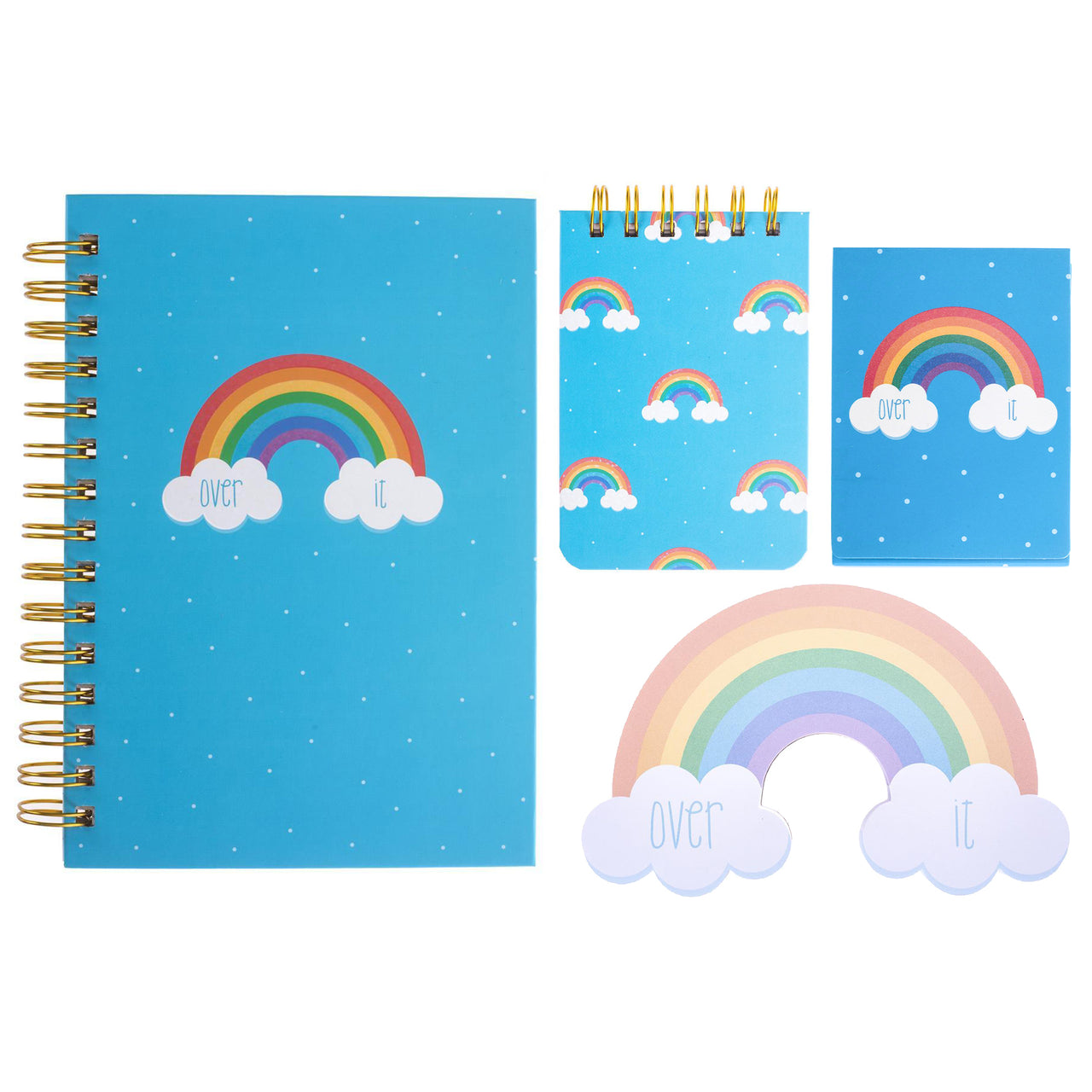 Over the Rainbow Stationery Set  ($35.00 Value)