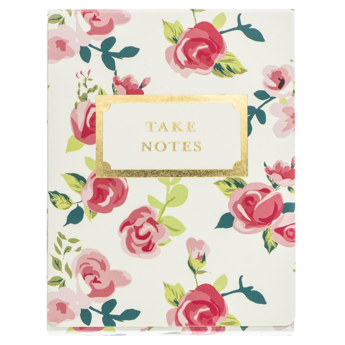 Pretty Floral Pocket Note