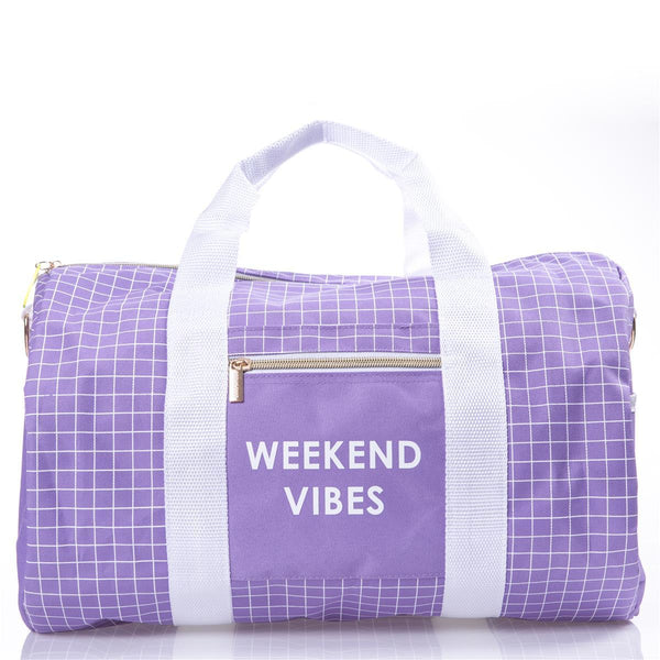 Lavender Weekend Bag