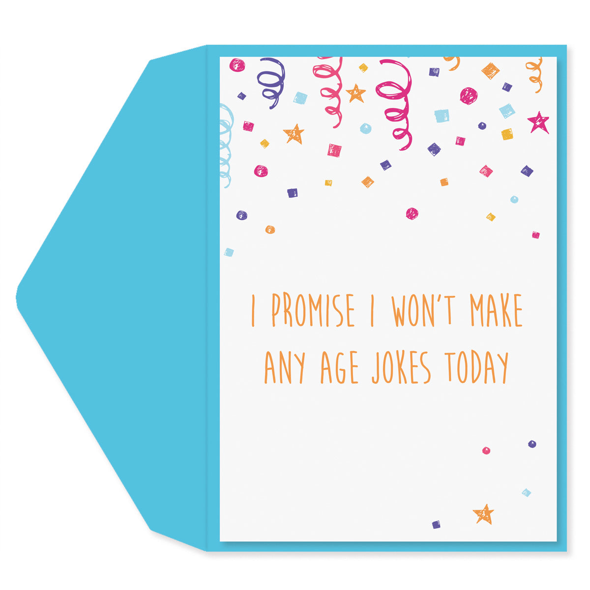 Age Jokes Today Birthday Card