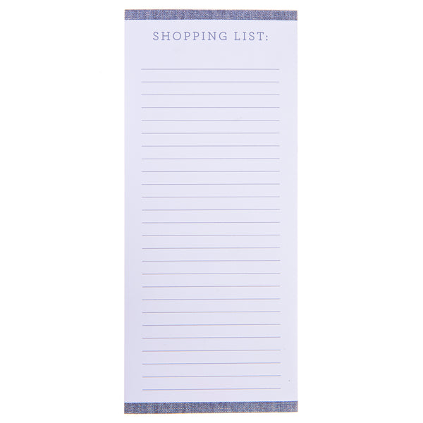 Chambray Magnetic Notepad