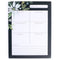 Joy Dark Green Background Large Notepad