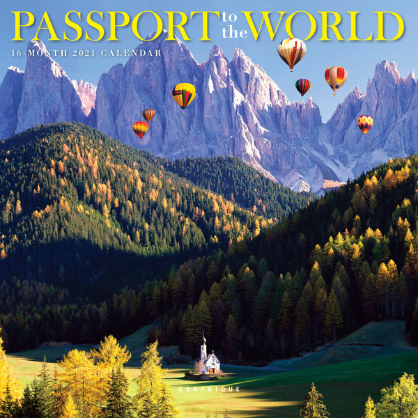 Passport to the World Mini Calendar