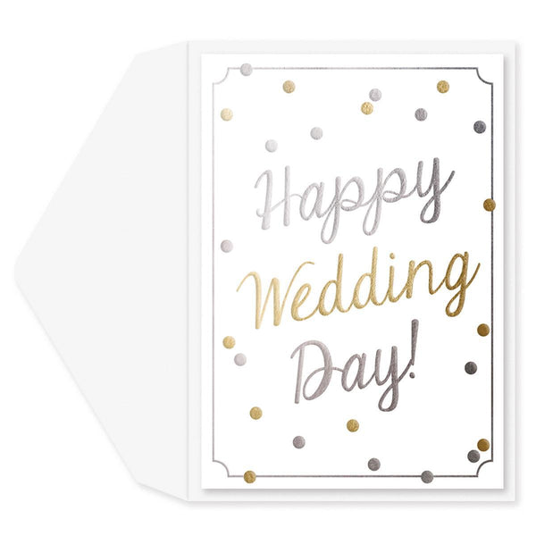 Happiest Day Wedding Card