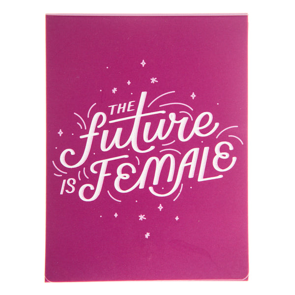 Future is Female Pocket Note