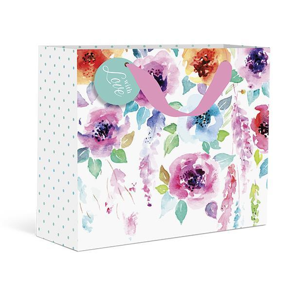 Hanging Flowers Medium Gift Bag