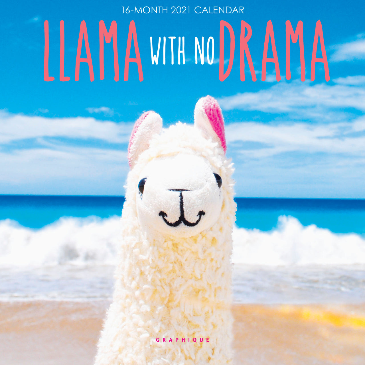 Llama with no Drama Mini Calendar