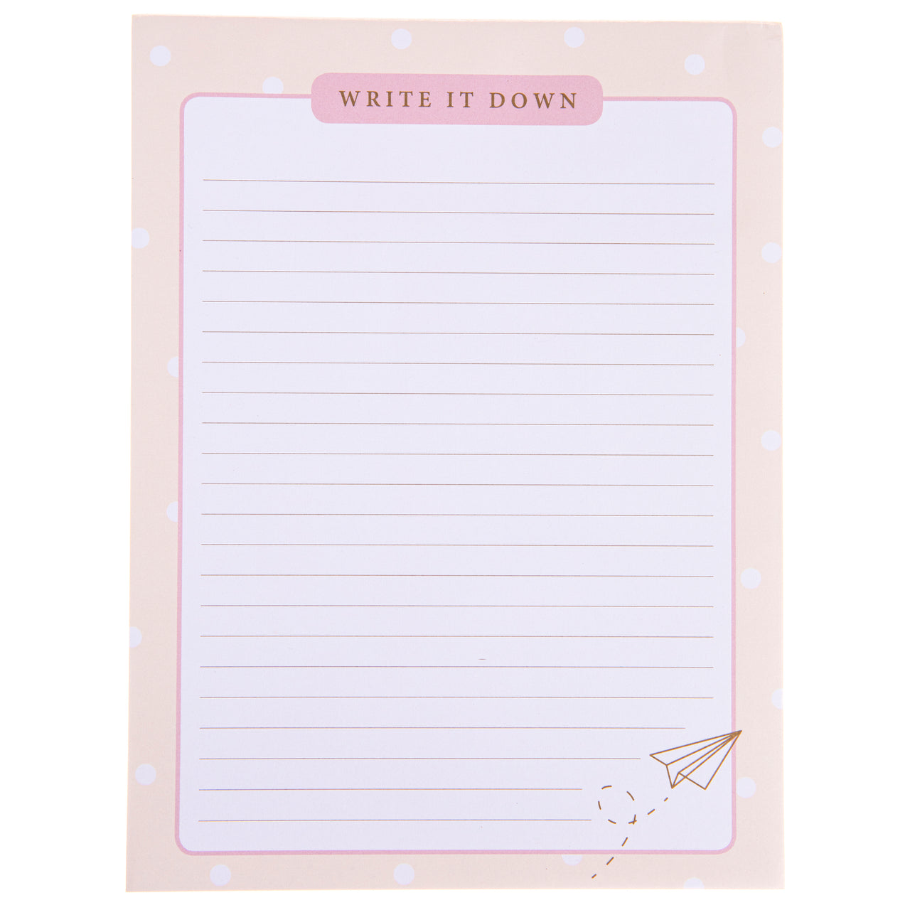 Write It Down Large Notepad