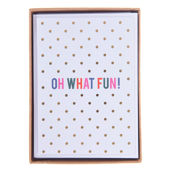 Oh What Fun Holiday Petite Boxed Cards