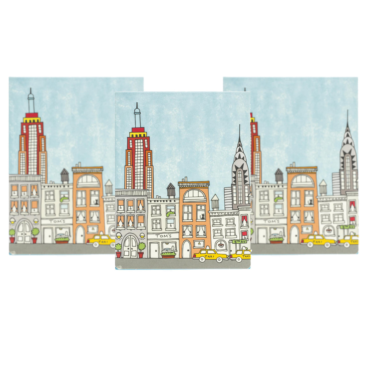 Big City New York Pocket Note Set of 3 ($18.00 Value)