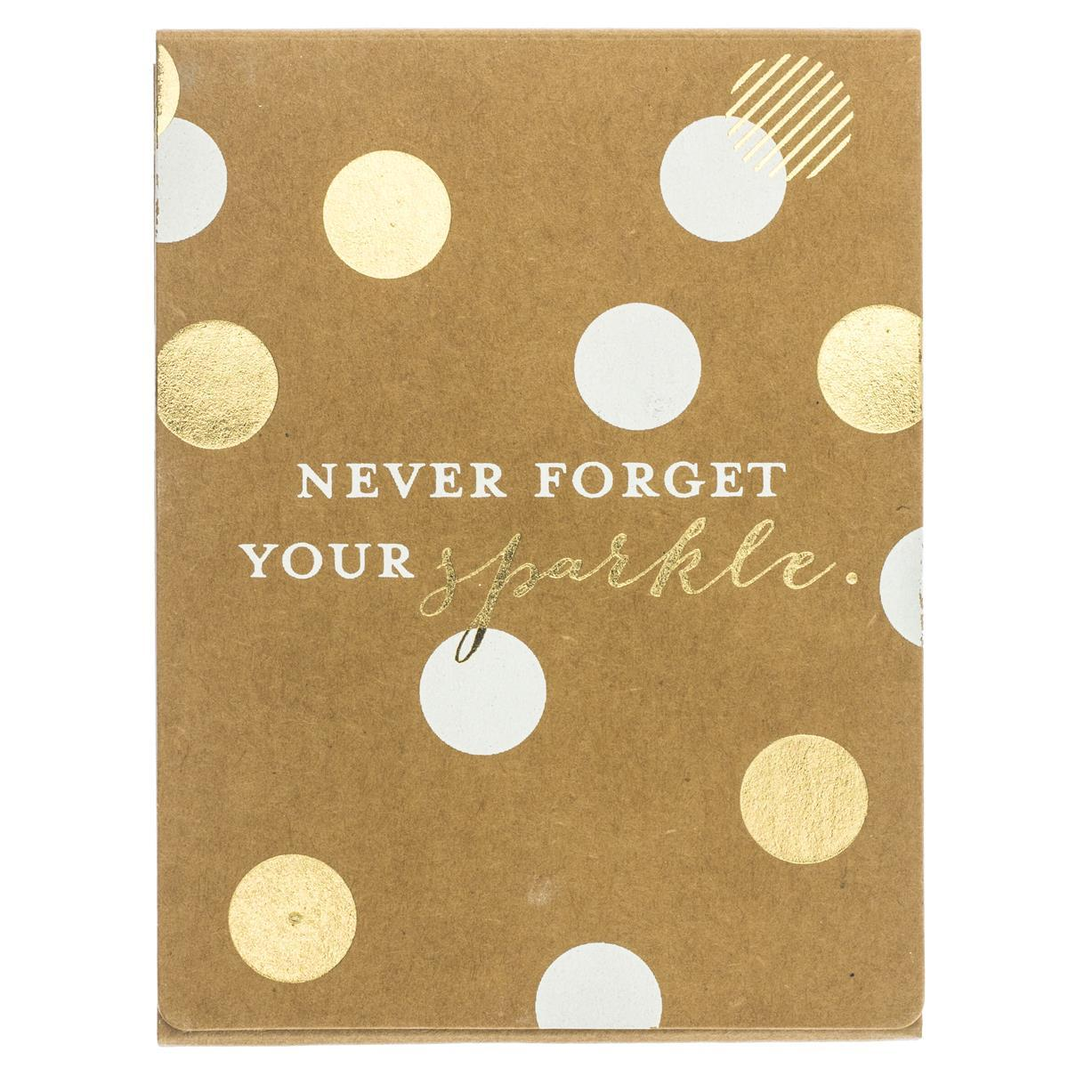 Never Forget Your Sparkle Pocket Note
