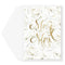 White Roses Wedding Card