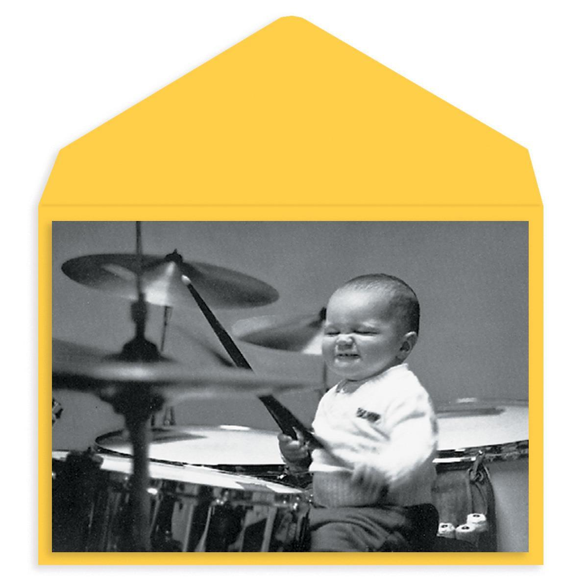 Baby Jam Session Birthday Card
