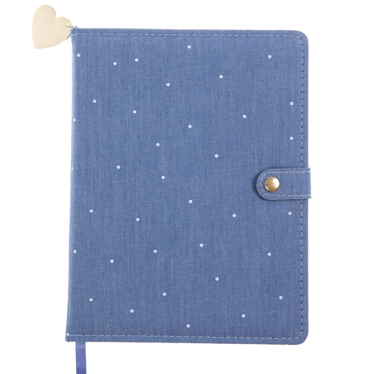 Chambray Snap Journal
