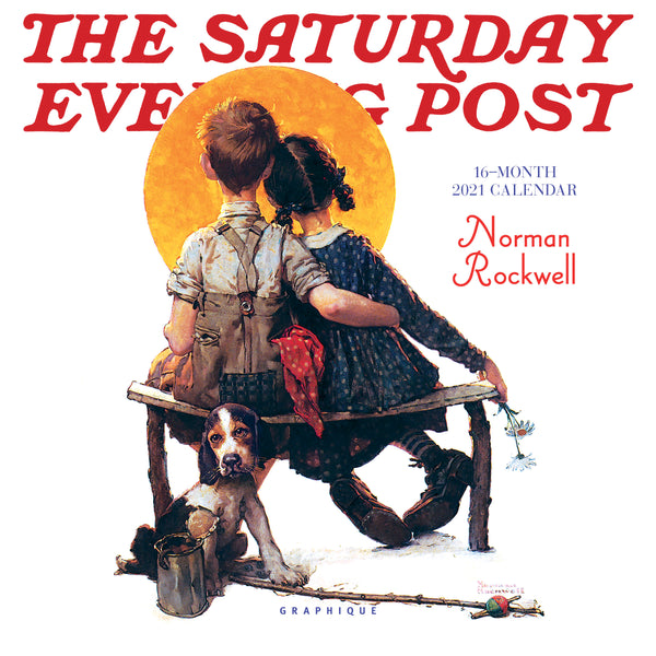 Saturday Evening Post Mini Calendar