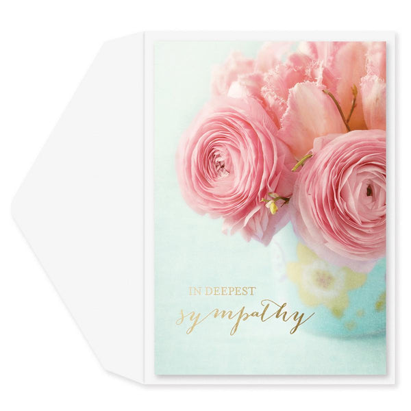 Peace Be With You Sympathy Card