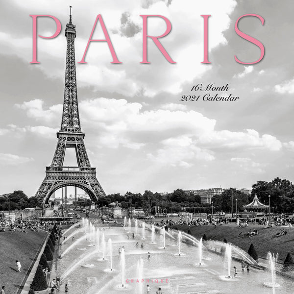 Paris Wall Calendar