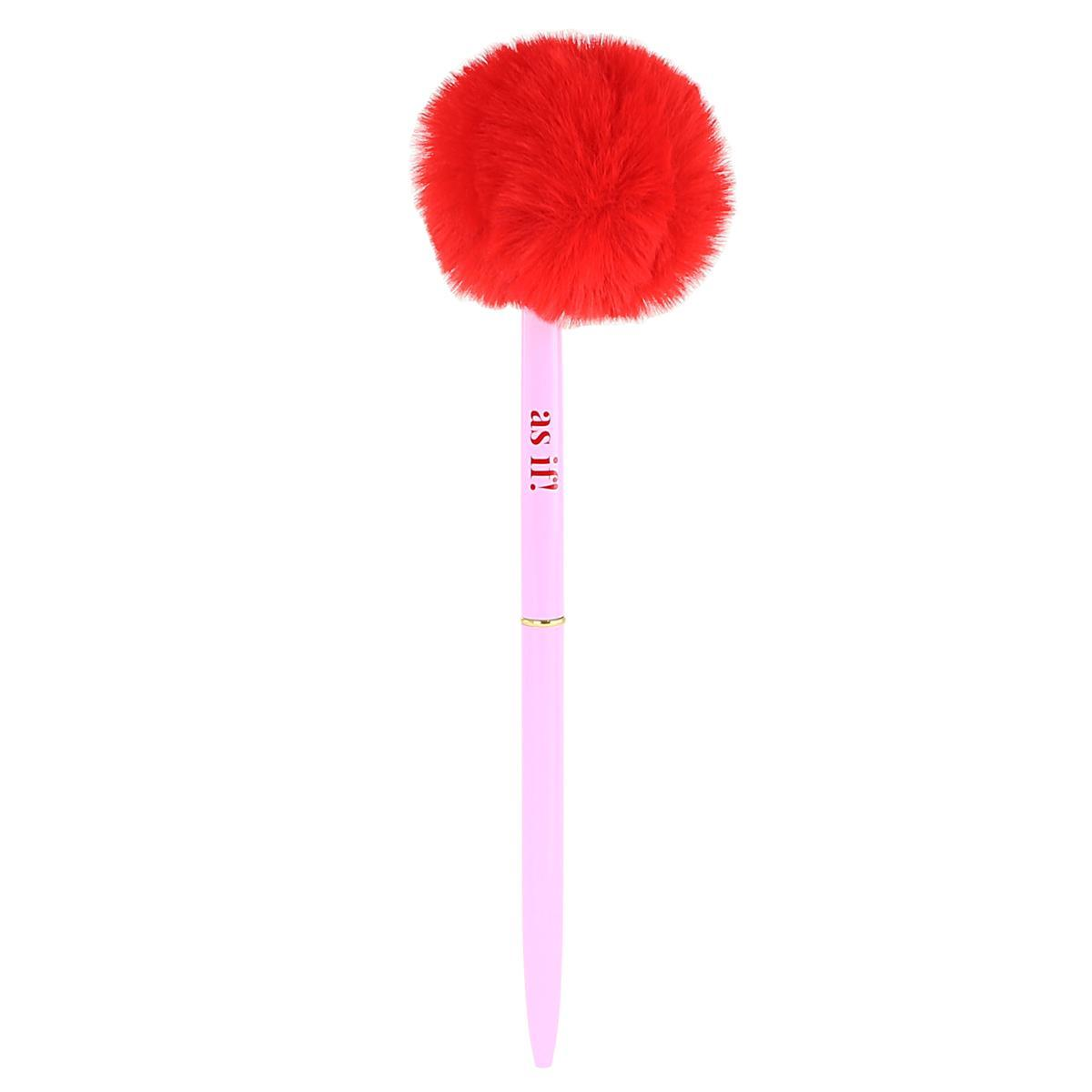 Pink and Red Le Pouf Pen