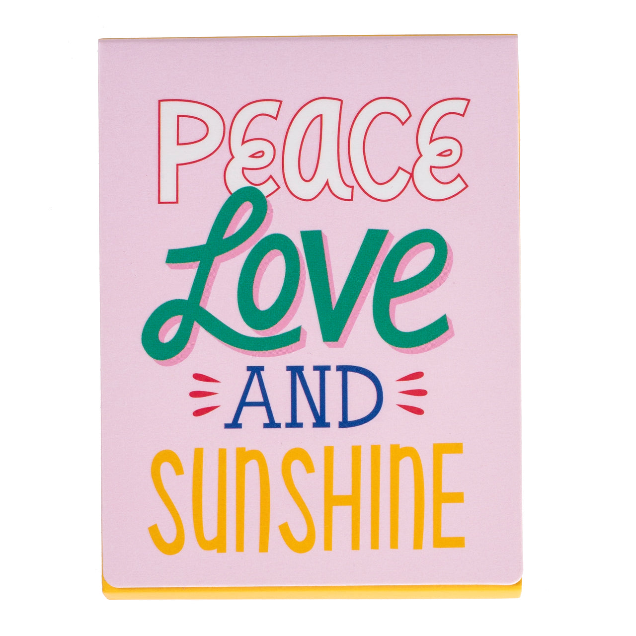 Peace Love and Sunshine Pocket Note